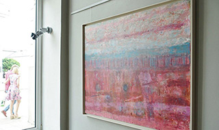 Martyna Merkel : Indian summer : Oil on Canvas