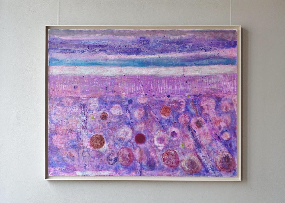 Martyna Merkel : Lavender landscape