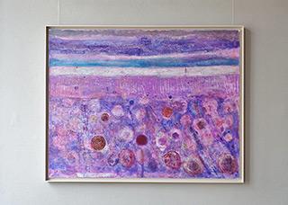 Martyna Merkel - Lavender landscape