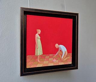 Mikołaj Kasprzyk : Little tin top : Oil on Canvas