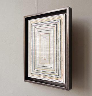 Łukasz Majcherowicz : The Pulpit : Oil-resin technique on canvas