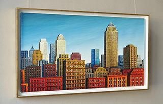 Adam Patrzyk : Cityscape : Oil on Canvas