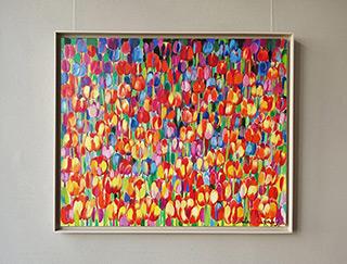 Beata Murawska : Carnival tulips : Oil on Canvas