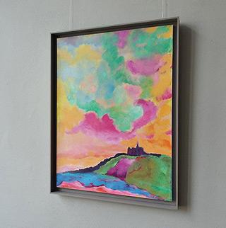 Beata Murawska : Kiss from Portofino : Oil on Canvas