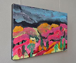 Beata Murawska : Punk landscape : Oil on Canvas