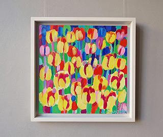 Beata Murawska : Solar storm : Oil on Canvas