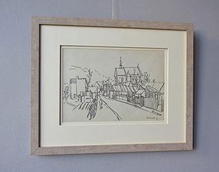 Edward Dwurnik : Kazimierz : Pencil on paper