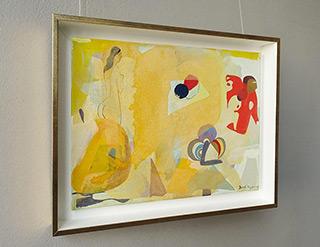 Jacek Cyganek : Don Juan leaves : Tempera on canvas