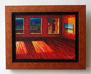Adam Patrzyk : Indoor scenery : Oil on Canvas