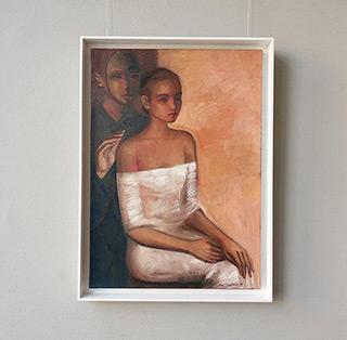Katarzyna Karpowicz : Tender guardian : Oil on Canvas