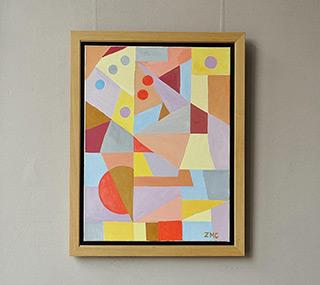 Zofia Matuszczyk-Cygańska : Puzzle : Oil on Canvas