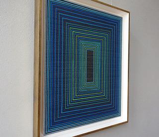 Łukasz Majcherowicz : The Portal of 28 Gates : Oil-resin technique on canvas