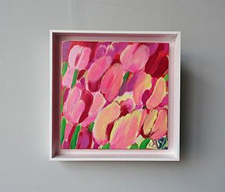 Beata Murawska : Pink sweetness : Oil on Canvas