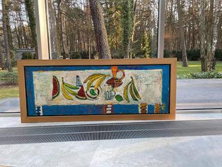 Darek Pala : Long table : Oil on Canvas