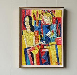 Darek Pala : Perfect draw : Oil on Canvas