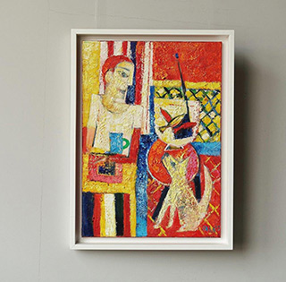Darek Pala : When you love everyone : Oil on Canvas
