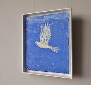 Jacek Łydżba : Pigeon : Oil on Canvas