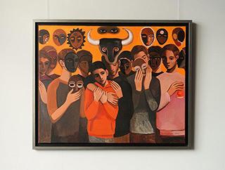 Katarzyna Karpowicz : Brother : Oil on Canvas