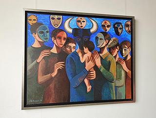 Katarzyna Karpowicz : Father : Oil on Canvas