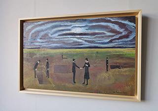 Katarzyna Karpowicz : Important meeting : Oil on Canvas