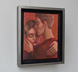 Katarzyna Karpowicz : Kiss 4 : Oil on Canvas