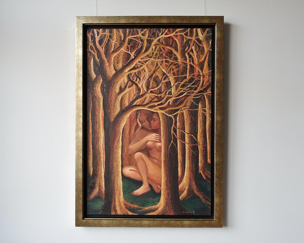 Katarzyna Karpowicz : Kiss in the forest