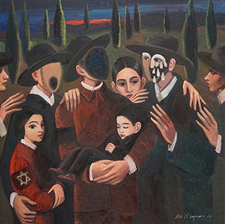 Katarzyna Karpowicz : Last meeting : Oil on Canvas