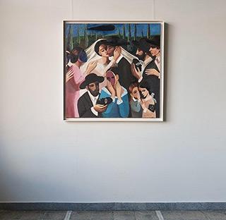 Katarzyna Karpowicz : Last wedding : Oil on Canvas