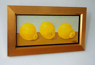 Krzysztof Kokoryn : Lemons : Oil on Canvas