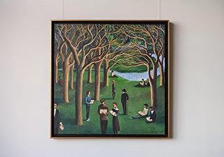 Katarzyna Karpowicz : Literature festival : Oil on Canvas