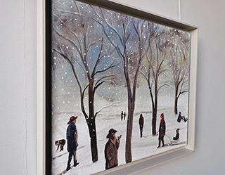 Katarzyna Karpowicz : Little winter : Oil on Canvas