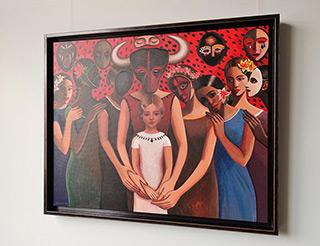Katarzyna Karpowicz : Mother : Oil on Canvas