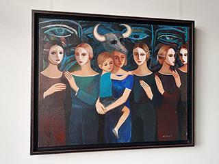Katarzyna Karpowicz : Sister : Oil on Canvas