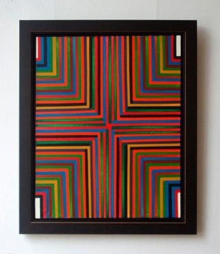Łukasz Majcherowicz : Compass : Oil on Canvas