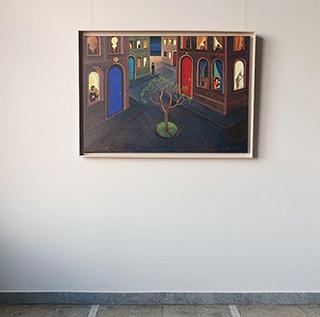 Katarzyna Karpowicz : Spring Tree : Oil on Canvas
