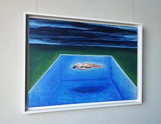 Katarzyna Karpowicz : The Sheltering Sky : Oil on Canvas
