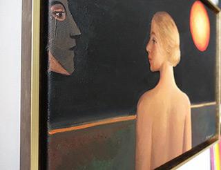 Katarzyna Karpowicz : The sun is always the same : Oil on Canvas