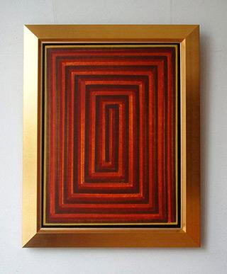 Łukasz Majcherowicz : Meander : Oil on Canvas