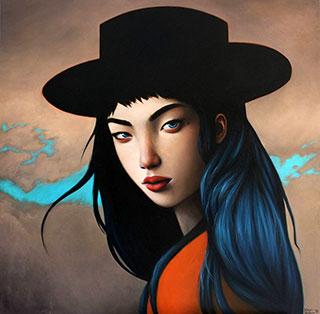 Katarzyna Kubiak : Sorceress : Oil on Canvas