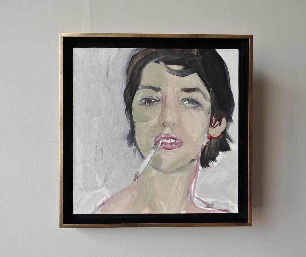 Katarzyna Swinarska - Girl with a cigarette