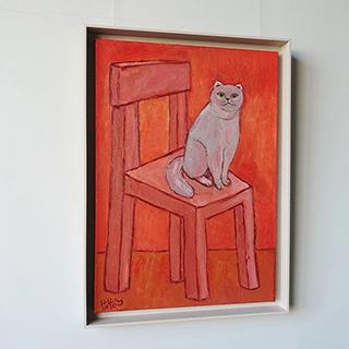 Krzysztof Kokoryn : Manekineko : Oil on Canvas