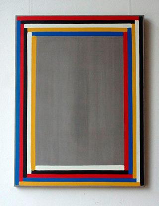 Łukasz Majcherowicz : Turned Painting : Oil on Canvas