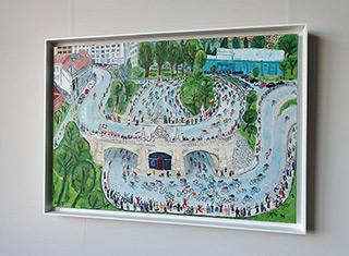 Krzysztof Kokoryn : Race at Karowa : Oil on Canvas