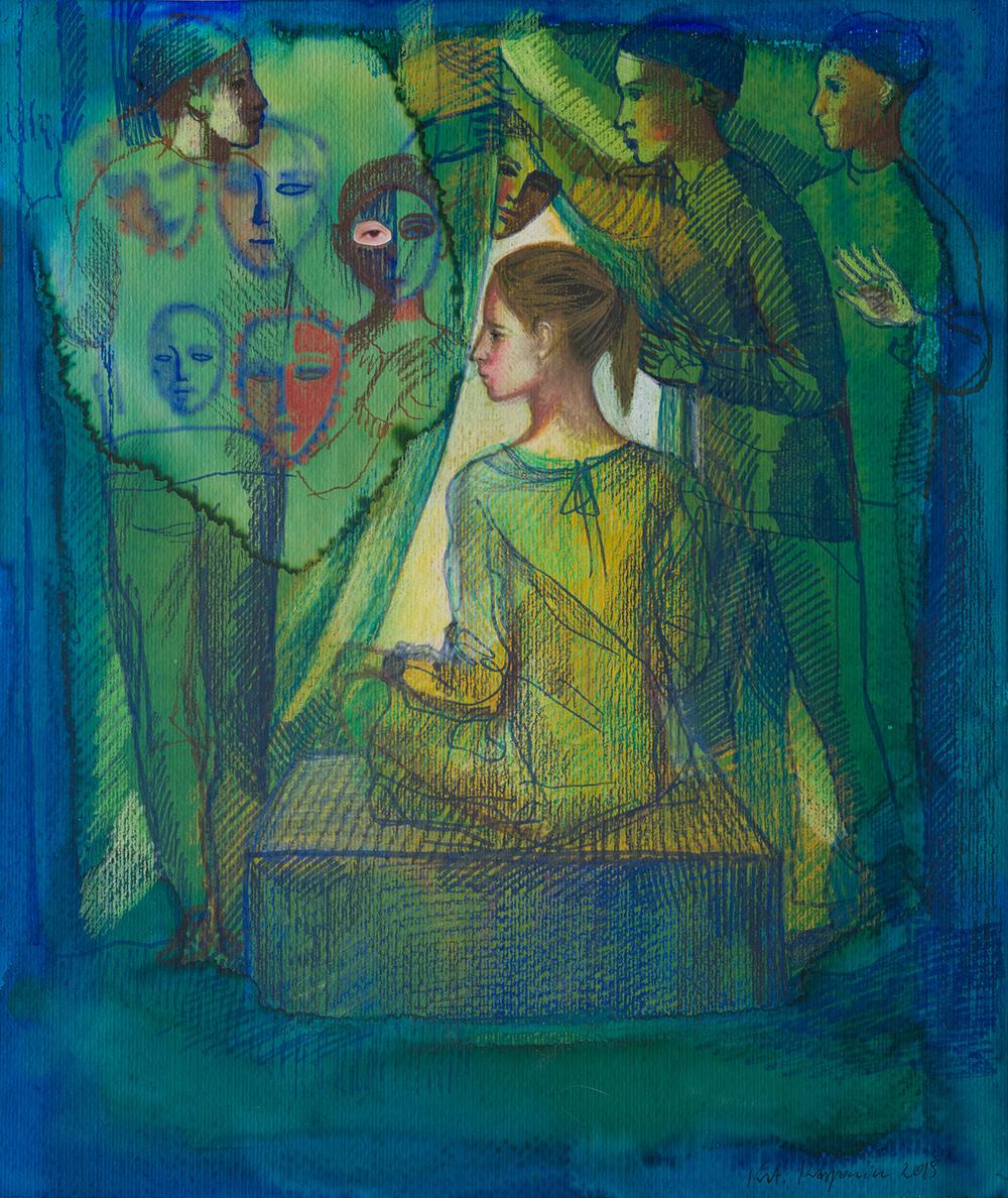 Katarzyna Karpowicz : Behind the Curtain
