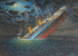 Adam Patrzyk : Titanic : Oil on Canvas