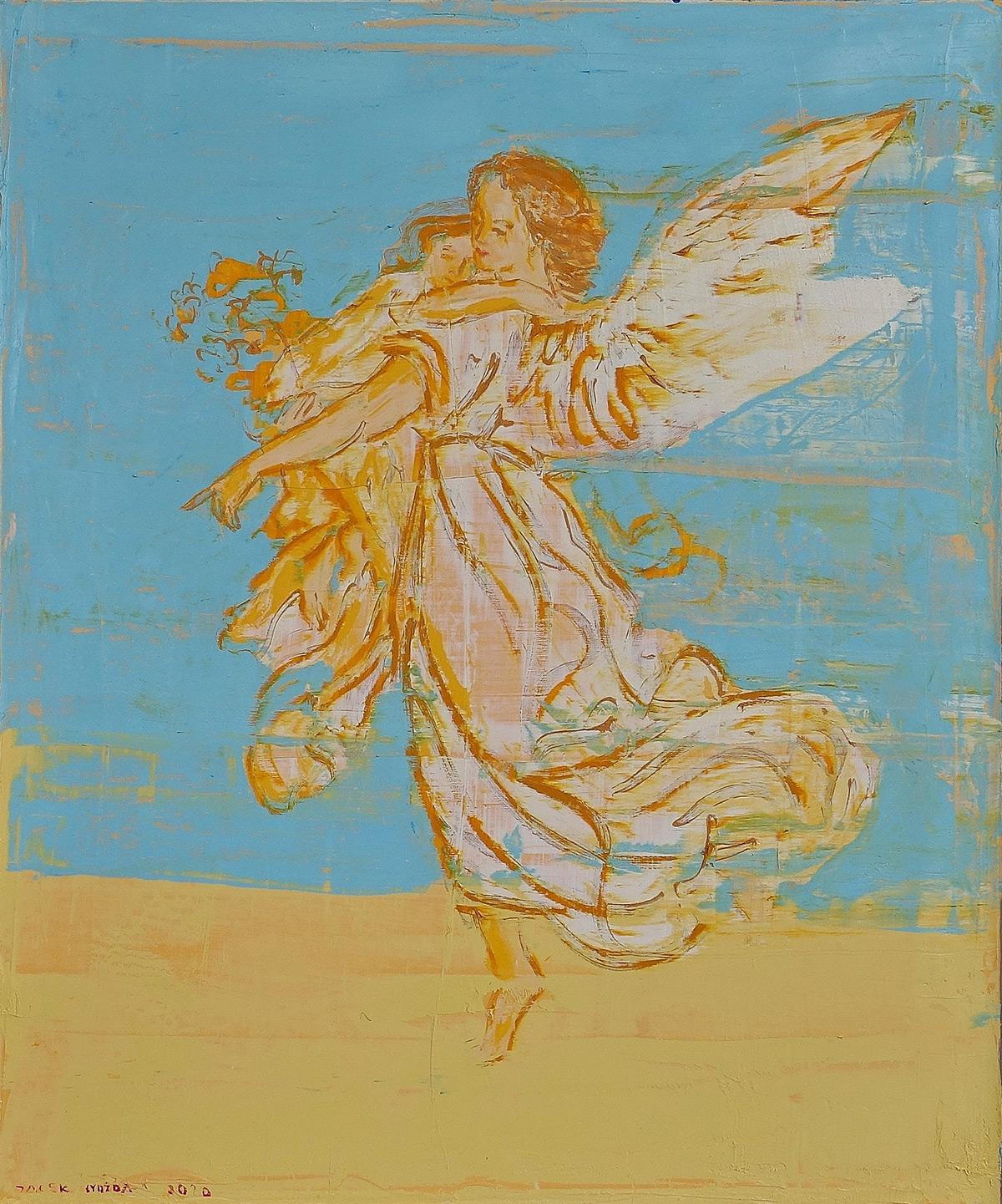 Jacek Łydżba : Guardian angel Blue