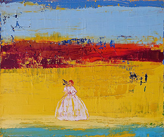 Jacek Łydżba : Messenger : Oil on Canvas