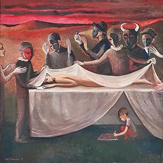 Katarzyna Karpowicz : Beautiful surgery : Oil on Canvas