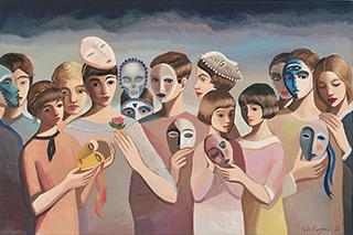 Katarzyna Karpowicz : Kindness : Oil on Canvas