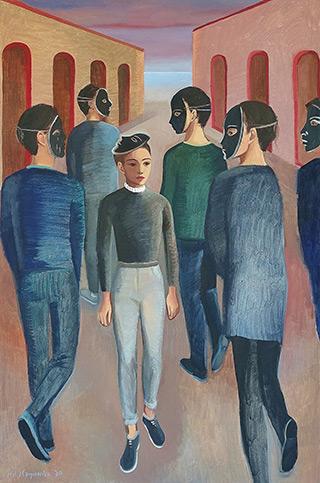 Katarzyna Karpowicz : That Feeling I Feel : Oil on Canvas